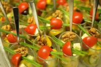 Catering Mozzarella Tomate